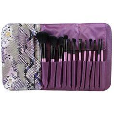 Morphe - Set 693 12 Piece Purple Set W/ Snakeskin Case
