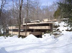 Fallingwater | Home - An old Bryn Mawr friend reminded me of Frank Lloyd Wright tonight, and I remembered how much I loved this old house!