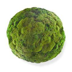 """Moss Ball - $36"""" diam - Floral Art"""