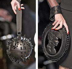Jean Paul Gaultier steampunk purses