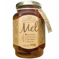 Mel de Flor de Laranjeira EMPÓRIO DO MEL 500g - Mel - Mercearia - Varanda Delivery | Vinhos | Importados | Mercearia | Alta Gastronomia