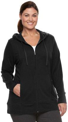 Shop Now - >  https://api.shopstyle.com/action/apiVisitRetailer?id=620532703&pid=uid6996-25233114-59 Plus Size Tek Gear® Dry Tek Zip-Front Hoodie  ...