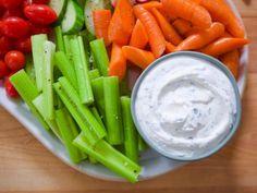 "Yogurt Ranch (Pizza Friday) - Molly Yeh, ""Girl Meets Farm"" on the Food Network. Yogurt Ranch Dressing, Greek Yogurt Ranch, Salad Dressing Recipes, Salad Recipes, Salad Dressings, Yogurt Recipes, Healthy Snacks, Healthy Eating, Healthy Recipes"