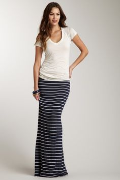 I have this skirt but I need more long ones. Good with simple plain tee shirt