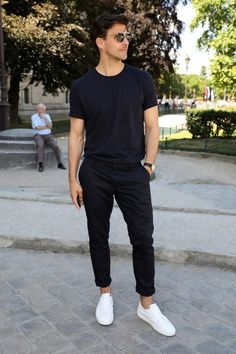 44 Most Popular Mens Summer Outfits Ideas for 2018 - Mode Mode Outfits, Casual Outfits, Men Casual, Fashion Outfits, Casual Chic, Summer Outfits Men, Dress Casual, Casual Office, Casual Styles