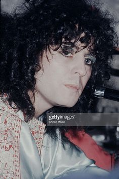 T Rex Marc Bolan press conference in Hilton Hotel, Tokyo, November 1972.