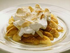 Gebackene Äpfel mit Baiserhaube ist ein Rezept mit frischen Zutaten aus der Kategorie Kernobst. Probieren Sie dieses und weitere Rezepte von EAT SMARTER!