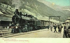 (from Paris to Constantinople) Orient Express Salzburg Station  #istanlook
