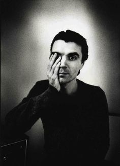 ♫ David Bryne, founding member & principle songwriter for new wave band,TALKING HEADS ♫