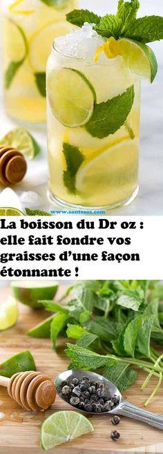 La boisson du Dr oz : elle fait fondre vos graisses d'une façon étonnante