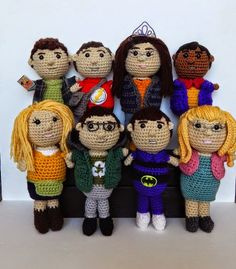 Big Bang Theory: Free crochet patterns for all characters, even Soft Kitty!