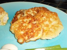 I havent had these corn fritters in years, and made my moms recipe tonight. They are super easy and really tasty. They basically taste like pancakes with corn in them. I think they would be a great way to sneak some veggies into your pickier eaters diet.