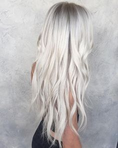 you always dreamed of getting silver blonde hair? If so, click through to discover all the cool Khaleesi-worthy silver blonde shades we're fawning over! Silver Blonde Hair, Icy Blonde, Blonde Shades, Silver Platinum Hair, Long Silver Hair, Silver White Hair, Long White Hair, Gray Hair, Blonde Hair With Color