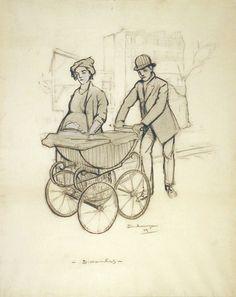 Sundays,  Marcel Duchamp, 1909