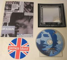 James Blunt PROMO set - DVD EPK/Promo Book/Mirror Sticker/Drink Coasters. The DVD includes a hidden gem! A whole gig at 93 Feet East. Setlist: http://www.setlist.fm/setlist/james-blunt/2005/93-feet-east-london-england-1bc45d78.html