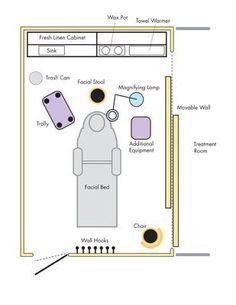esthetician room setup ideas - Google Search Spa Room Decor, Beauty Room Decor, Beauty Salon Interior, Salon Interior Design, Spa Interior, Schönheitssalon Design, Design Ideas, Studio Design, Design Color