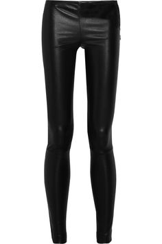The Row Moto stretch-leather leggings-style pants. Need these in my life - or at least in my closet!