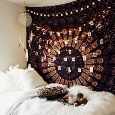 Summer hangs✨ Tapestries from Lady Scorpio ☽ ✩ Product by Lady Scorpio | Bohemian Boho Bungalow Bedroom || Save 25% off all orders with code PINTERESTXO at checkout | Shop Now LadyScorpio101.com