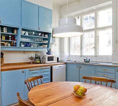 Kök från 40-talet. Foto:Byggfabriken