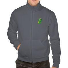 Jacket with dragon cartoon