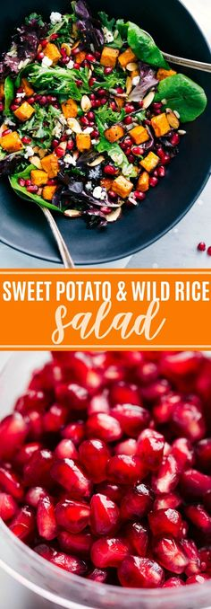 You'll never regret throwing this Sweet Potato and Wild Rice Salad together!
