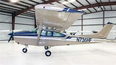 1979 Cessna TR182 Turbo RG - Passengers: 4, Crew: 1, Normal Cruise: 173 kts, Payload: 764 lbs Ceiling: 18000 ft, Engines: 1