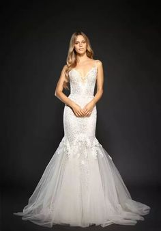 7630d7993bc Hayley Paige Rae-6708 Mermaid Wedding Dress Hayley Paige Bridal