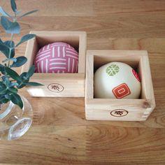 Japanese Sake Cup Pincushions/ Kawaii/ Tenugui by JapaneseBOROshop, ¥1250
