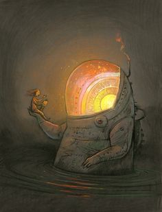 IBBY AUSTRALIA offers this special Limited Edition Print by internationally acclaimed Australian author/illustrator Shaun Tan. Shaun Tan, Art And Illustration, Tan Tumblr, Australian Artists, Whimsical Art, Graphic, Illustrators, Fantasy Art, Concept Art
