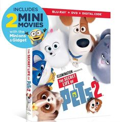 The Secret Life of Pets 2 for Home Entertainment! Jenny Slate, Lake Bell, Tiffany Haddish, Perfect Movie, Secret Life Of Pets, Movie Releases, Universal Pictures, Home Entertainment, Family Love