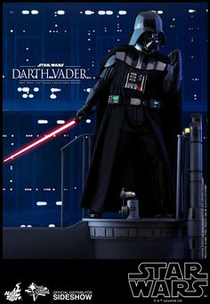 The Hot Toys Darth Vader Sixth Scale Figure is available at Sideshow.com for fans of Star Wars Episode V The Empire Strikes Back.