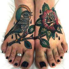 Rose #traditionaltattoo #tattoo #tattoo done by Vassotats lowbrow #Vasso
