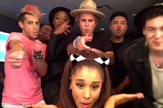 Hilarious: Justin Bieber has debuted a video lip syncing to Carly Rae Jepsen's new single, I Really Like You, alongside the likes of Ariana Grande and Kendall Jenner