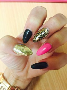 "Nails art ""gepard"""