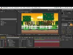 How to Create a Parallaxing Background Without a 3D Camera