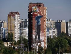 Looking Up: The Giant Art Transforming Kyiv