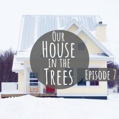 Ever dreamed of building a house from the ground up? Well, this family of four did it - all while trying to be as eco-conscious as possible! Watch them go from raw land to house in the trees in under 15 minutes. Sustainable Design, Sustainable Living, Green Living Tips, Yellow Houses, Eco Friendly House, Room Tour, In The Tree, Solar Energy, Animals For Kids