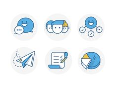 Service Desk - Welcome Icons