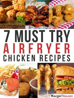 Airfryer Recipes My 7 Favourite Air Fryer Chicken Recipes Power Air Fryer Recipes, Air Fryer Oven Recipes, Air Frier Recipes, Air Fryer Dinner Recipes, Power Airfryer Xl Recipes, Air Fryer Chicken Recipes, Air Fryer Chicken Tenders, Recipes Dinner, Breakfast Recipes