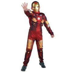 Σιδερένιος άνδρας στολή Σούπερ Ήρωα Iron Man για αγόρια