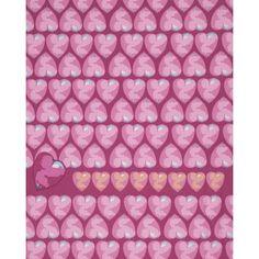 Tina Givens - Feather Flock - Heart Candy - Fuscia