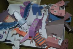 ANIMAL JAM PAPER CRAFTS    #animaljam #papercraft #party #decorations