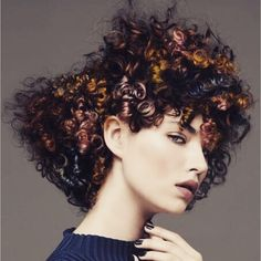Accent your #curls with color!
