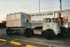 DAF A container trnsport