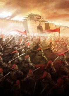 Ming army, China