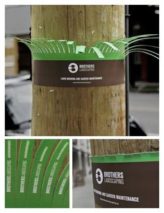 Brothers Landscaping // 8 Creative Outdoor Ads You've Gotta See #Advertising #Creative #Design