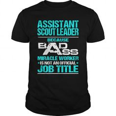 ASSISTANT SCOUT LEADER-BADASS T3