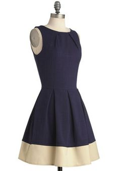OK--I think this website is a GREAT option for retro-style bridesmaid dresses (Shoreline Soiree Dress) #ModCloth