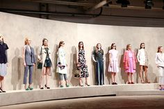 Our women's line up | Banana Republic Spring '16 NYFW Presentation