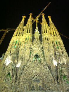 Sagrada Família, Antoni Gaudí. Barcelona - Spain